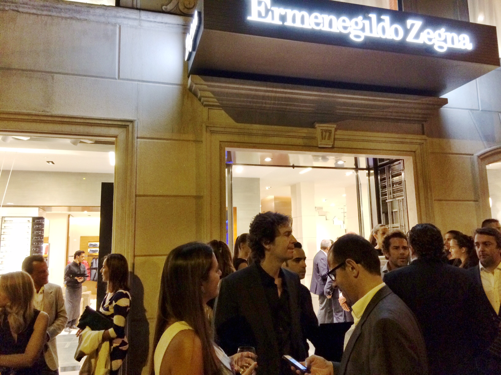 ZEGNA´S NEW STORE OPENING IN LISBON!