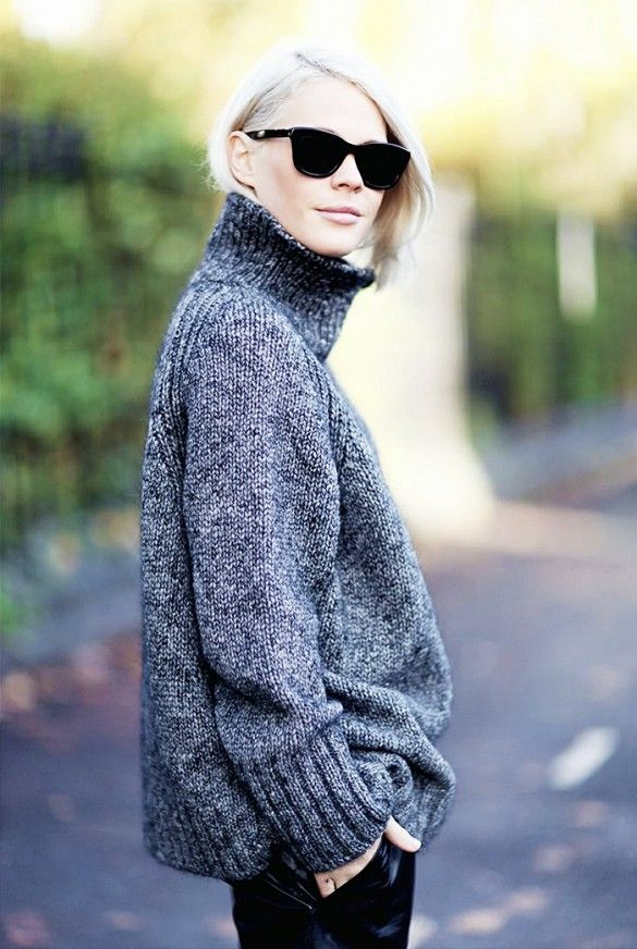 TURTLE NECK KNITS – A TREND TO GET COZY AND WARM WITH STYLE!